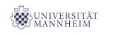 Logo von der Universität Mannheim