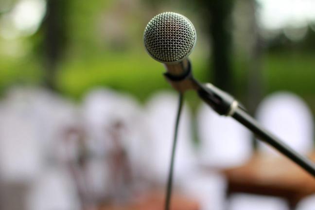 Vortragsmikrofon