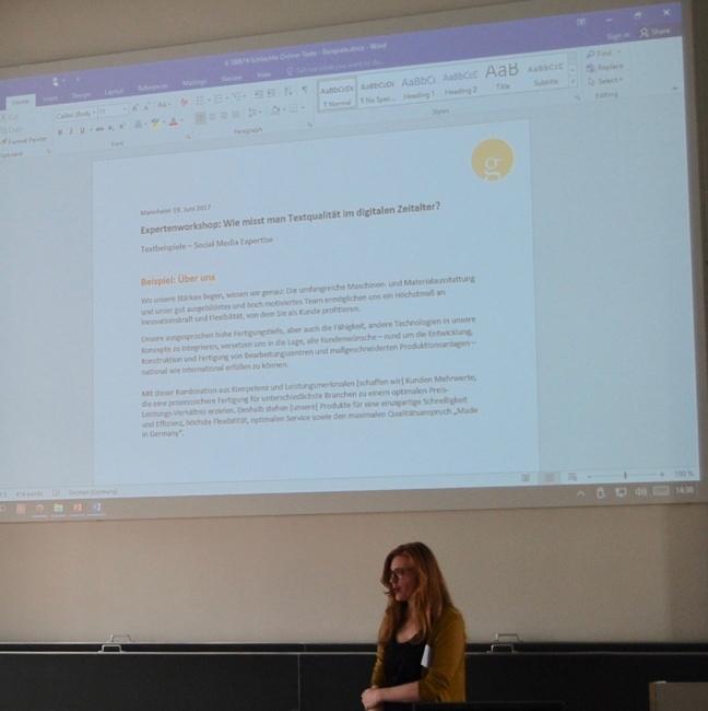 Präsentation Lia Gänzler